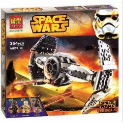 Bela 10373 Star Wars 75082 TIE Advanced Prototype Xếp hình Mô hình tàu TIE cao cấp 354 khối