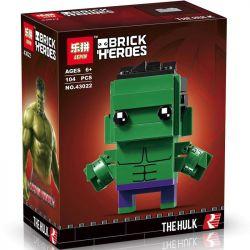 Lepin 43022 Decool 6817 Bela 10769 (NOT Lego BrickHeadz 41592 The Hulk ) Xếp hình Khổng Lồ Xanh 104 khối