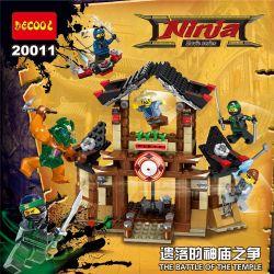 Lego Ninjago MOC Decool 20011 Disputes of the Shattered Temple Xếp hình Cuộc tranh chấp đền thờ của Ninja 363 khối