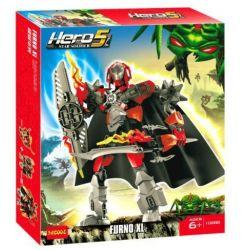 Decool 10288 (NOT Lego Hero Factory 44000 Furno ) Xếp hình Chiến Binh Dũng Cảm Furno 103 khối