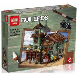 Lepin 16050 Sheng Yuan 1147 SY1147 (NOT Lego Ideas 21310 Old Fishing Store ) Xếp hình Cửa Hàng Bán Đồ Câu Cá Cũ 2109 khối