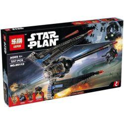 Lepin 05112 Star wars 75185 Tracker I Xếp hình Phi Thuyền Kẻ Theo Dõi 597 khối