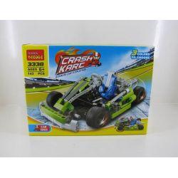 Decool 3338 Technic 8256 Go Kart Xếp hình Xe Đua Kart (Mẫu 1) 144 khối