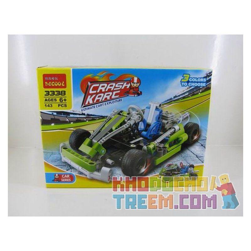 Decool 3338 (NOT Lego Technic 8256 Go Kart ) Xếp hình Xe Đua Kart (Mẫu 1) 144 khối