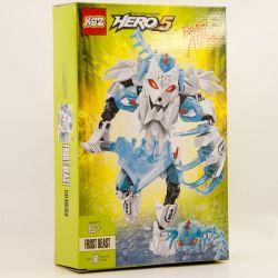 KSZ 912 XSZ Hero Factory 44011 Frost beast Xếp hình Mãnh thú Frost 60 khối