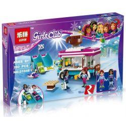 Lepin 01048 Bela 10729 Friends 41319 Snow Resort Hot Chocolate Van Xếp hình Trượt Tuyết Khu Nghỉ Mát Socola 260 khối