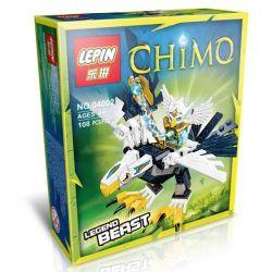 Lepin 04002 Bozhi 98053-2 Chima 70124 Eagle Legend Beast Xếp hình Chim ưng đại chiến 104 khối