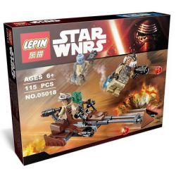 Lepin 05018 Bela 10572 (NOT Lego Star wars 75133 Rebel Alliance Battle Pack ) Xếp hình Đội Quân Liên Minh Nổi Loạn 115 khối