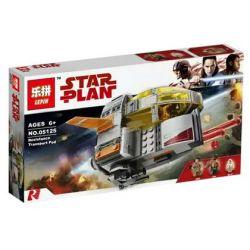 Lepin 05125 Bela 10898 Star Wars 75176 Resistance Transport Pod Xếp Hình Chống Lại Tàu Vận Chuyển Quân Dụng Pod 330 Khối