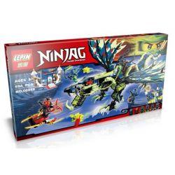 Lepin 06018 Bela 10400 Lele 79120 Sheng Yuan SY389 NinJaGo 70736 Attack of the Morro Dragon Xếp hình tấn công rồng của Morro 694 khối