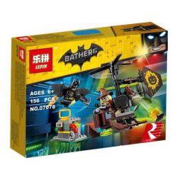 Lepin 07078 Decool 7129 Batman Movie 70913 Scarecrow Fearful Face-Off Xếp hình Người Dơi đối mặt gã bù nhìn 156 khối