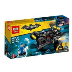 Lepin 07094 Sheng Yuan 1010 Bela 10877 (NOT Lego Batman Movie 70918 The Bat-Dune Buggy ) Xếp hình Xe Vượt Địa Hình Của Người Dơi 222 khối