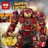 Lepin 07101 Sheng Yuan 1041 SY1041 Bela 10833 Decool 7134 Lele 34036 Super Heroes 76105 The Hulkbuster: Ultron Edition Xếp hình Bộ Giáp Hulkbuster Phiên Bản Ultron Của Người Sắt 1527 khối