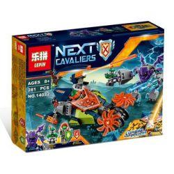 Lepin 14032 Sheng Yuan 866 SY866 Bela 10593 (NOT Lego Nexo Knights 70358 Aaron's Stone Destroyer ) Xếp hình Cỗ Xe Phá Đá Của Aaron 281 khối