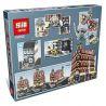 Lepin 15002 Pogo 10001 Lele 30012 (NOT Lego Creator Expert 10182 Cafe Corner ) Xếp hình Quán Cafe Góc Phố 2133 khối