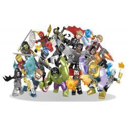 Sheng Yuan SY-1060 Super Heroes MOC The superheroes defend the earth Xếp hình Các siêu anh hùng bảo vệ trái đất 275 khối