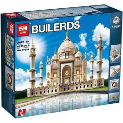 Lepin 17001 17008 Creator Expert Exclusives Sculptures Architecture 10189 10256 Taj Mahal Xếp hình lăng mộ đền thờ Taj Mahal 6633 khối