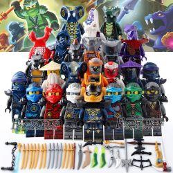 Lele 31035 Ninja Movie MOC The characters in the movie Ninja Xếp hình Các nhân vật trong phim Ninja 12 khối
