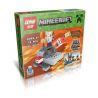 Lepin 18007 Minecraft MOC 6 in 1 Xếp hình 6 trong 1 418 khối
