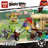 Lepin 19003 Bela 10507 (NOT Lego Angry Birds 75823 Bird Island Egg Heist ) Xếp hình Siêu Trộm Lợn Xanh Đột Nhập Hòn Đảo Loài Chim 305 khối