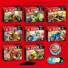 Sheng Yuan SY696 Ninja Movie MOC Ninjago Motorcycle Xếp Hình Bộ Sưu Tập Môtô Của Các Ninja 215 Khối
