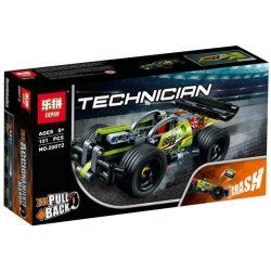 Lepin 20072 Decool 3421 Bela 10820 (NOT Lego Technic 42072 Whack! ) Xếp hình Xe Whack Tốc Độ Cao 151 khối