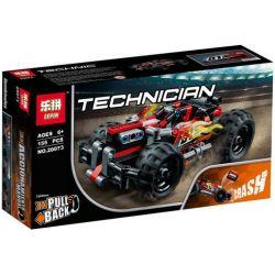 Lepin 20073 Decool 3422 (NOT Lego Technic 42073 Bash! ) Xếp hình Xe Bash Tốc Độ Cao Bền Vững 155 khối