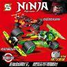 Sheng Yuan SY7010 Ninja Movie Ninjas' Racing Cars Xếp Hình Xe Đua Tốc Độ Của Các Ninja 338 Khối