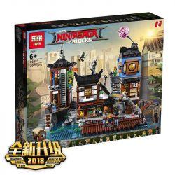 Lepin 06083 NinJaGo 70657 Ninjago City Docks Xếp hình Ngôi Làng Ninjago 3979 khối