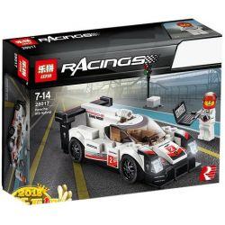Lepin 28017 Sheng Yuan 6776 Bela 10942 Speed Champions 75887 Porsche 919 Hybrid Xếp hình Siêu Xe Porsche 919 183 khối