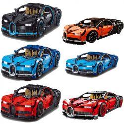 Lepin 20086 20086B Lele 38036 Decool 3388A 3388B 3388C Sheng Yuan SY7950 SY7950A Technic 42083 Bugatti Chiron Xếp hình Siêu xe tối thượng 4031 khối