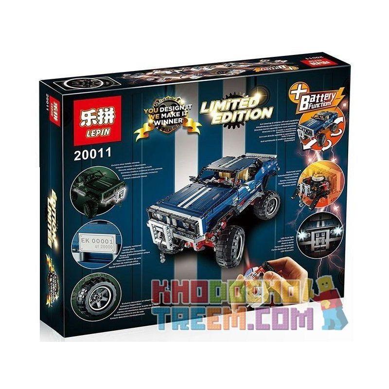 Lepin 20011 Technic 41999 4X4 Crawler Exclusive Edition Xếp hình Ô Tô Địa Hình Điều Khiển Từ Xa 1605 khối