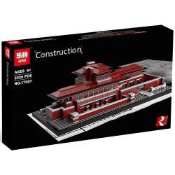 Lepin 17007 (NOT Lego Architecture 21010 Robie House ) Xếp hình Kiến Trúc Frederick C. Robie House 2326 khối
