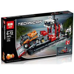 Lepin 20078 Decool 3376 Bela 10825 Technic 42076 Hovercraft Xếp Hình Tàu đệm Khí 1101 Khối