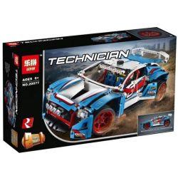 Lepin 20077 Decool 3377 Lele 38048 Bela 10826 Bela 10826 Technic 42077 Rally Car Xếp Hình Xe đua địa Hình 1085 Khối
