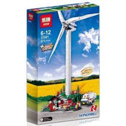 Lepin 37001 37004 Creator 4999 10268 Vestas Wind Turbine Xếp hình Chong Chóng Điện Gió Có Động Cơ 1641 khối