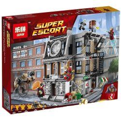 Lepin 07107 Marvel Super Heroes 76108 Sanctum Sanctorum Showdown Xếp hình Đại chiến ở Sanctum Sanctorum của Doctor Strange 1125 khối