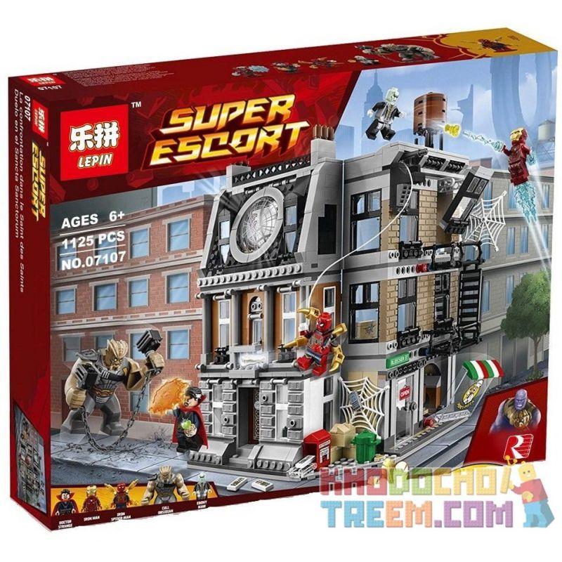 Lepin 07107 Sheng Yuan 1044 SY1044 Bela 10840 (NOT Lego Marvel Super Heroes 76108 Sanctum Sanctorum Showdown ) Xếp hình Đại Chiến Ở Sanctum Sanctorum Của Doctor Strange 1125 khối