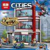Lepin 02113 (NOT Lego 60204 City Hospital ) Xếp hình Bệnh Viện Thành Phố 964 khối