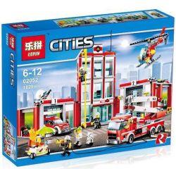 Lepin 02052 Bela 10831 City 60110 Fire Station Xếp hình Trạm Cứu Hỏa Lớn 1029 khối