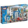 Xinlexin Gudi 9320 (NOT Lego City Police Headquarters ) Xếp hình Trụ Sở Cảnh Sát 870 khối