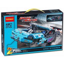 Decool 3367 Lele 38000 Technic 42050 Drag Racer Xếp hình Xe Đua Cơ Bắp 647 khối