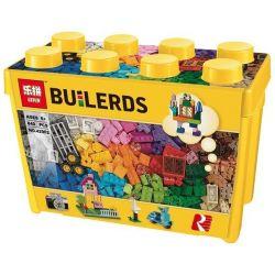 Lepin 42002 Lele 39076 Classic 10698 Classic Large Creative Brick Box Xếp hình Sáng Tạo Hộp Gạch Cổ Điển (Hộp Nhựa) 840 khối