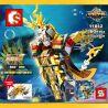 Sembo 11812 Super Heroes MOC The king of the sea Glory Xếp hình Vị vua của biển Glory 360 khối