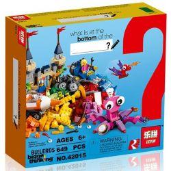 Lepin 42015 (NOT Lego Classic 10404 Đáy Đại Dương ) Xếp hình Ocean's Bottom 649 khối