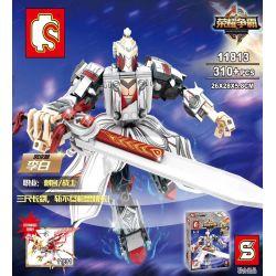 Sembo 11813 Super Heroes MOC GLORY Hero Xếp hình Anh hùng Glory 310 khối