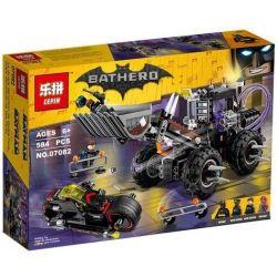 Lepin 07082 Batman Movie 70915 Two-Face Double Demolition Xếp hình Máy xúc của gã hai mặt 584 khối