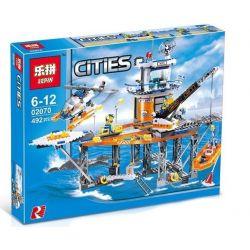 Lepin 02070 (NOT Lego City 4210 Coast Guard Platform ) Xếp hình Cảnh Sát Giám Sát Bờ Biển 492 khối