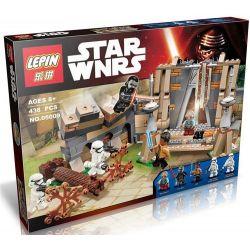 Lepin 05009 Star Wars 75139 Battle on Takodana Xếp hình đại chiến trên hành tinh takodana 438 khối