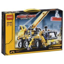 Decool 3349 (NOT Lego Technic 8067 Mini Mobile Crane Style 2 ) Xếp hình Xe Tải Cần Trục (Mẫu 2) 292 khối